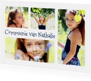 Communie collage 4 foto's - BK