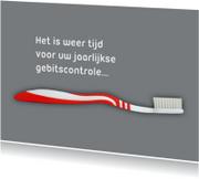 controle gebit tandarts