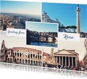 De groeten... Rome - DH