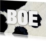 Dierenkaart Boe