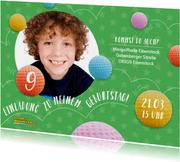 Einladung Kindergeburtstag Minigolfhalle in Eibenstock