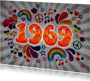 Einladung zum Geburtstag Sixties 1969