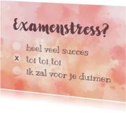 examen stress meerkeuze