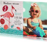 Flamingo 1 jaar zomer feestje