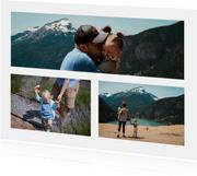 Fotocollage rechthoekig liggend met panorama foto