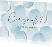 Geburtstag Glückwunschkarte Congrats