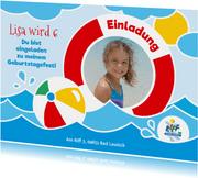 Geburtstagseinladung Kinder Riff Freizeitbad 1