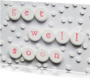Beterschapskaarten - GET WELL SOON op pillen