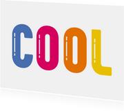 Glückwunschkarte Cool
