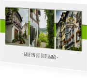 Groeten uit Duitsland