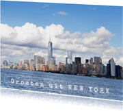 Groeten uit New York, Amerika