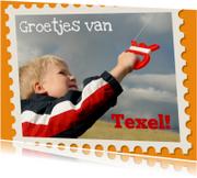 Groetjes uit Texel eigen foto