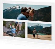 Grußkarte Fotos Panoramafoto