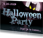 HALLOWEEN PARTY uitnodiging