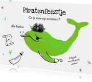 Ik geef een piratenfeestje - met illustratie