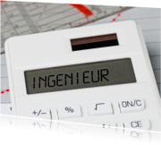 INGENIEUR op een rekenmachine