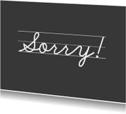 Sorry kaarten - JippieJippie sorry 001