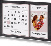 Kalender krijt - BK