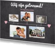 Kalender krijt getrouwd - BK