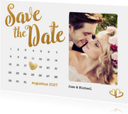 Kalender Save the Date foto - BK