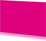 Kies je kleur fuchsia ansichtkaart