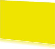 Kies je kleur geel ansichtkaart