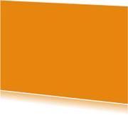 Kies je kleur oranje ansichtkaart