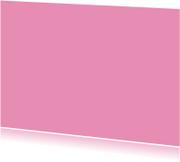 Kies je kleur roze  ansichtkaart