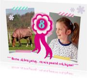 Kinderfeestje meisje paard leeftijd