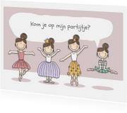 Kinderfeestje partijtje Ballerina