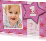 Kinderfeestje Tess ster