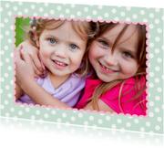 Kinderkaart Vriendinnen Eigen Foto