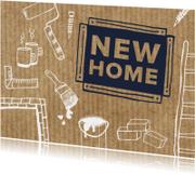 New Home met klus tekeningen