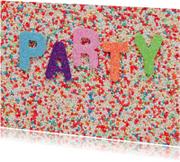 PARTY met heel veel kleuren