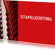 sale - stapelkorting