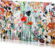 Schilderij bloemen Martine de Ruiter