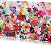 Schilderij Feestje! van Martine de Ruiter