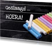 Schoolbord Geslaagd - OT
