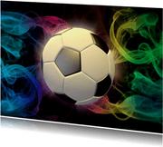 Stoere voetbal kaart