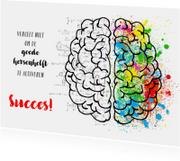 succes hersenen aan het werk