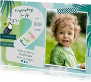 Kinderfeestjes - Tropisch verjaardagsfeestje 2 jaar