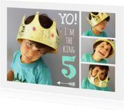 Uitnodiging kinderfeest collage