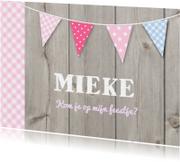 Uitnodiging Mieke