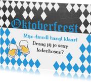 uitnodiging oktoberfeest