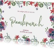 Uitnodiging voor een paasbrunch met Pasen