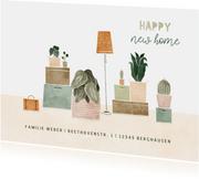 Umzugskarte Hausrat & Pflanzen