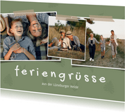 Urlaubskarte Feriengrüße Fotoreihe