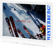 Vakantie Groeten - Wintersport