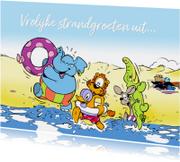 Vakantie Loeki & friends aan zee - A