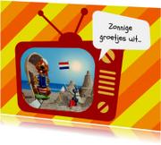 Vakantie Loeki tv strand -A